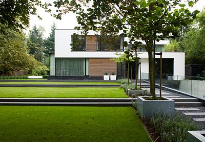 Grote Moderne Tuin : Welkom bij buytengewoon tuinen moderne stadstuinen stijlvolle